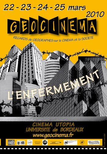 Affiche Geocinema 2010