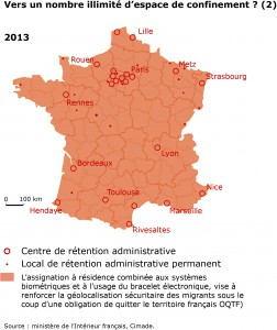 Détention administrative en France en 2013 (2).